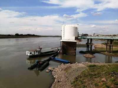 Pese a bajante del Río Paraguay, Essap garantiza producción de agua potable