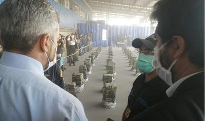 Imputan a Turrini tras hallazgo de más de 2.300 kilos de cocaína en Villeta