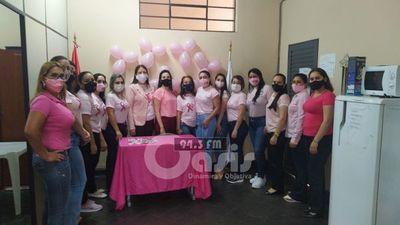 Realizan charla sobre prevención al cáncer de mama en el Ministerio de la Defensa
