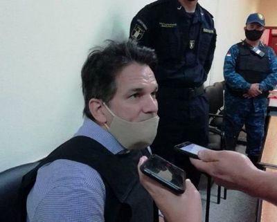 Jueza ordena prisión preventiva para Cristian Turrini, tras ser imputado por caso cocaína