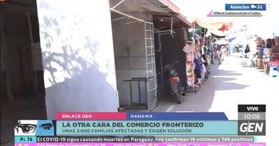 La Nación / Anuncian movilización en Nanawa por la apertura del tránsito con Argentina