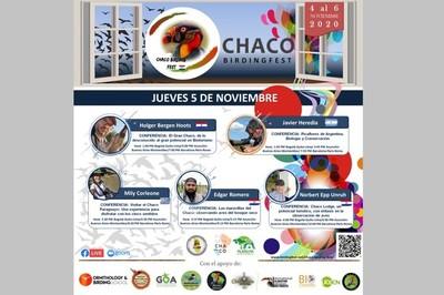 Primera feria virtual de aves del Chaco