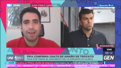 HOY / FIFA confirma chats de amaño de Trovato, echa por tierra el argumento del expresidente franjeado