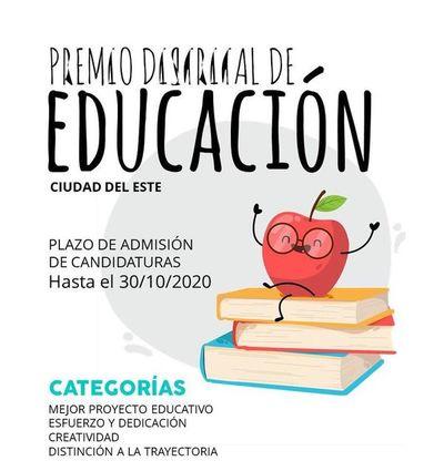 Convocan a docentes para el Premio Distrital de Educación
