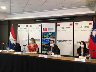 Acuerdan inclusión financiera para emprendedores y Mipymes de Paraguay