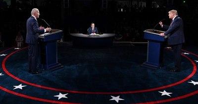 La Nación / Trump y Biden se enfrentan en un último debate