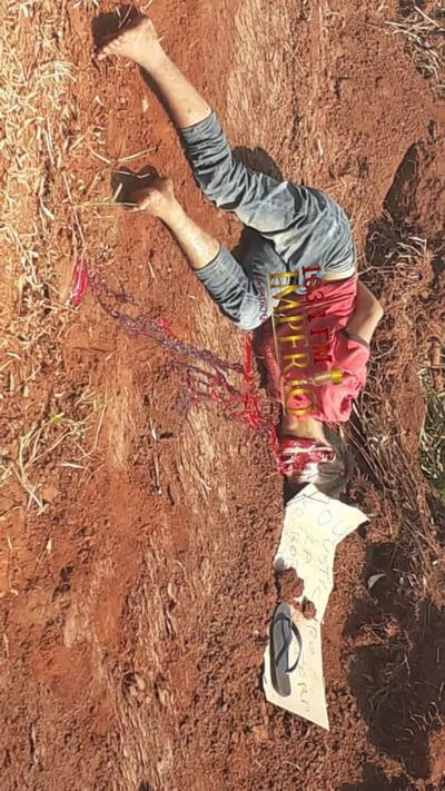 Hallazgo de cadáver en la Colonia Potrero Sur