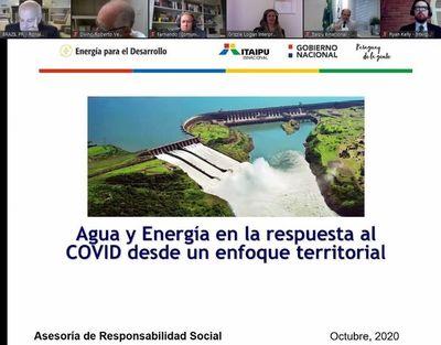 Itaipú y Undesa lanzaron plataforma global sobre soluciones sostenibles