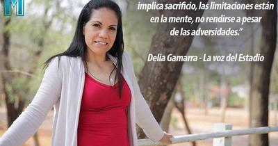 """La historia de vida de Delia Gamarra """"La voz del estadio"""""""