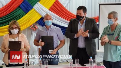 SUSCRIBEN CONTRATO PARA LA CONSTRUCCIÓN DE ALCANTARILLADO SANITARIO EN FRAM