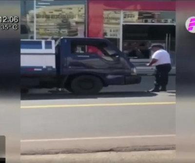 PMT a los golpes con conductor en Santaní