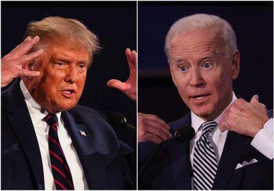 Trump y Biden se enfrentan esta noche en el último debate presidencial