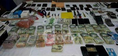 Con requisa sorpresiva descubren laboratorio de drogas en Tacumbú