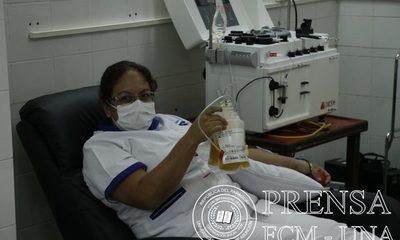 """En Clínicas dicen ver """"buenos resultados"""" por donación de plasma de recuperados del covid"""
