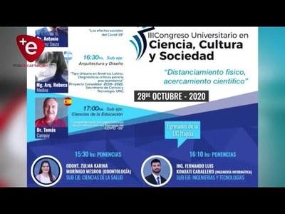 UCI desarrollará III Congreso Universitario en Ciencia Cultura y Sociedad