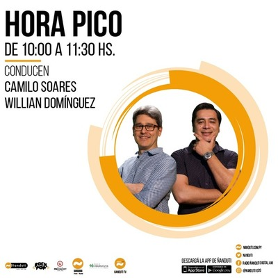 Hora Pico con Camilo Soares y Willian Domínguez