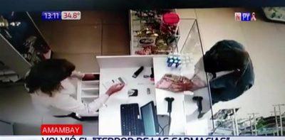Atracos no paran en farmacias de Pedro Juan