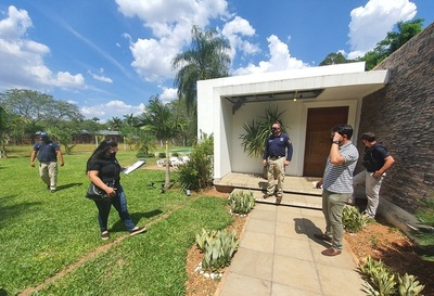 Megacarga de cocaína: allanan vivienda de Turrini en San Bernardino