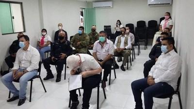 Fuerza multi-institucional a las calles de Pedro Juan para control de protocolo sanitario