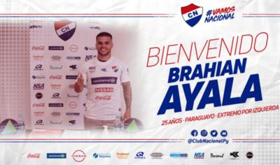 HOY / Brahian Ayala es nuevo jugador de la Academia