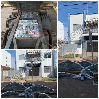 La Policía Federal incautó la segunda mayor carga de cocaína del Estado de Mato Grosso do Sul durante este año