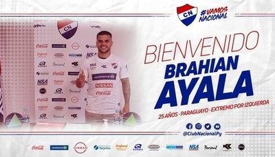 Brahian Ayala es nuevo jugador de Nacional