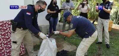 San Bernardino: Incautan caja fuerte y otras evidencias en casa de novia de Turrini