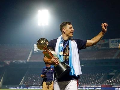 Diego Churín se despide de Cerro Porteño después de tres años