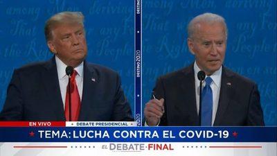 [EN VIVO] Biden y Trump se enfrentan en el último debate