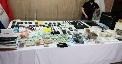 La Nación / El laboratorio de cocaína estaba en área de admisión