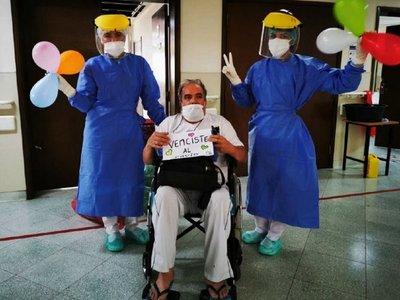 """Hospital Geriátrico del IPS suma  casos de altas """"vivas"""" por Covid"""