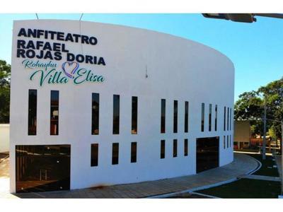 Anfiteatro de Villa Elisa, un tributo a  Rafael Rojas Doria