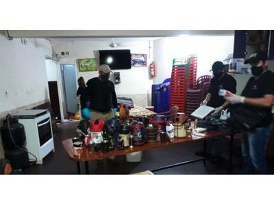 Hallan minilaboratorio de cocaína en sector vip del penal de Tacumbú