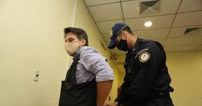 La Nación / Ordenan prisión para Cristian Turrini por megacarga de cocaína
