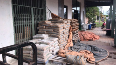 Sedeco monitorea  precios de bolsas de cemento en Asunción y Central