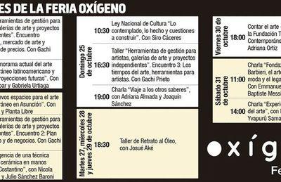 """Feria ofrece """"oxígeno"""" al arte"""