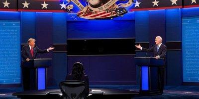 Trump y Biden por fin debaten y exhiben diferencias irreconciliables