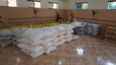 Municipio de Raúl Peña recibe con 8500 kilos de alimentos