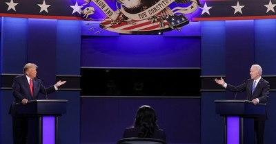 La Nación / Los principales puntos del último debate entre Trump y Biden en EEUU