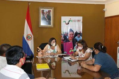 Coordinadora de San Pedro destaca la apertura de nueva encargada del INDERT
