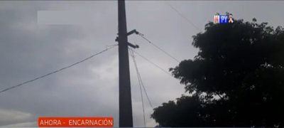 Adolescente muere al tocar un cable de alta tención