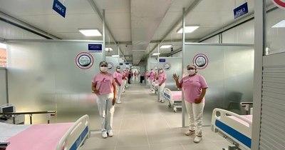 La Nación / Inauguran pabellón de contingencia en Misiones para pacientes con COVID-19