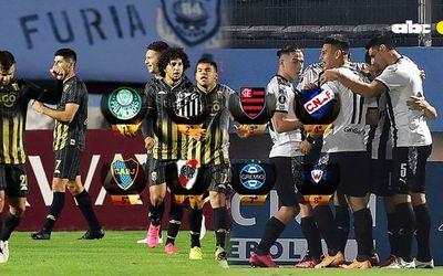 Los posibles rivales de la Guaraní y Libertad en octavos de final