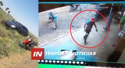 VIDEO: MOMENTO EN EL QUE LLEGARON ASALTANTES A LA DESPENSA DE ALTO VERÁ.