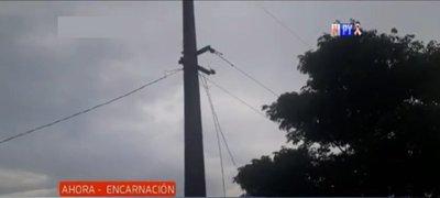 Adolescente muere al tocar un cable de alta tensión