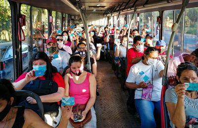 Por primera vez se tiene un conteo real de pasajeros del transporte público
