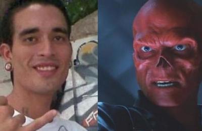 Red Skull venezolano: joven se ha operado 15 veces el rostro para ser igual al enemigo de Capitán América