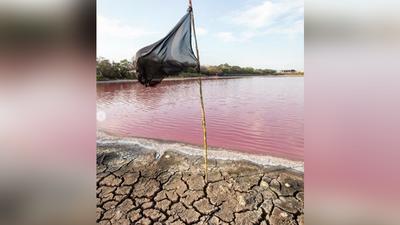 Laguna Cerro: La cara más cruda de la contaminación y la sequía