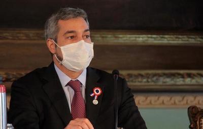 Una indisposición obliga a Mario Abdo a suspender sus actividades por hoy