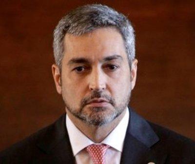 Mario Abdo suspende actividades por problemas de salud